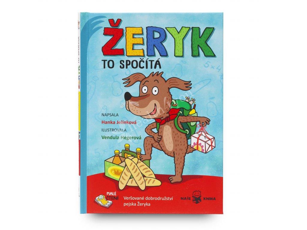 Dětská knížka Žeryk to spočítá