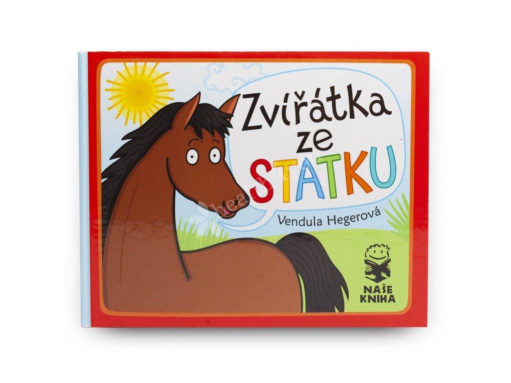 Dětská knížka Zvířátka ze statku