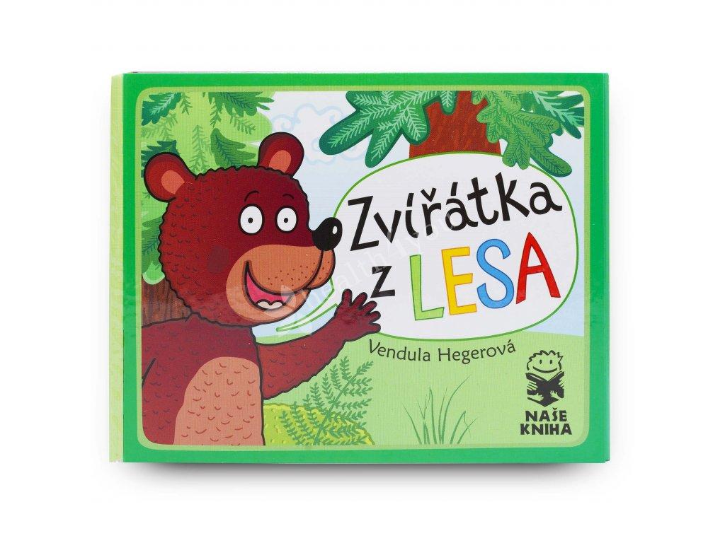 Dětská knížka Zvířátka z lesa