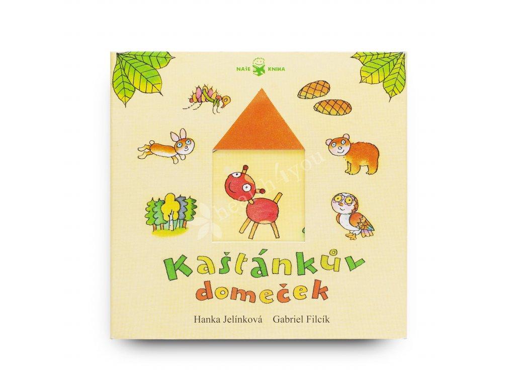 Dětská knížka Kaštánkův domeček