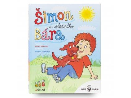 Dětská kniha Šimon a štěňátko Bára