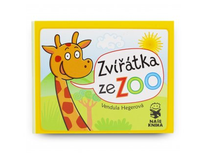 Dětská knížka Zvířátka ze ZOO