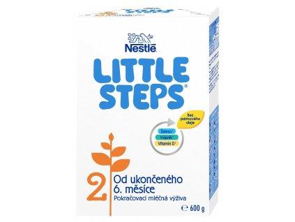 LITTLE STEPS 2, pokračovací mléčná kojenecká výživa, od ukončeného 6. měsíce, 600 g