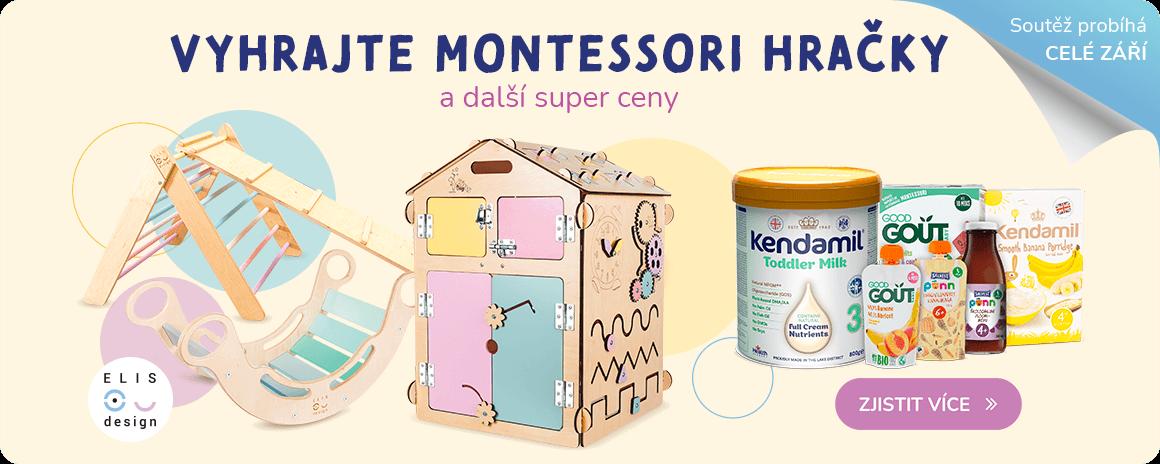 Vyhrajte Montessori hračky