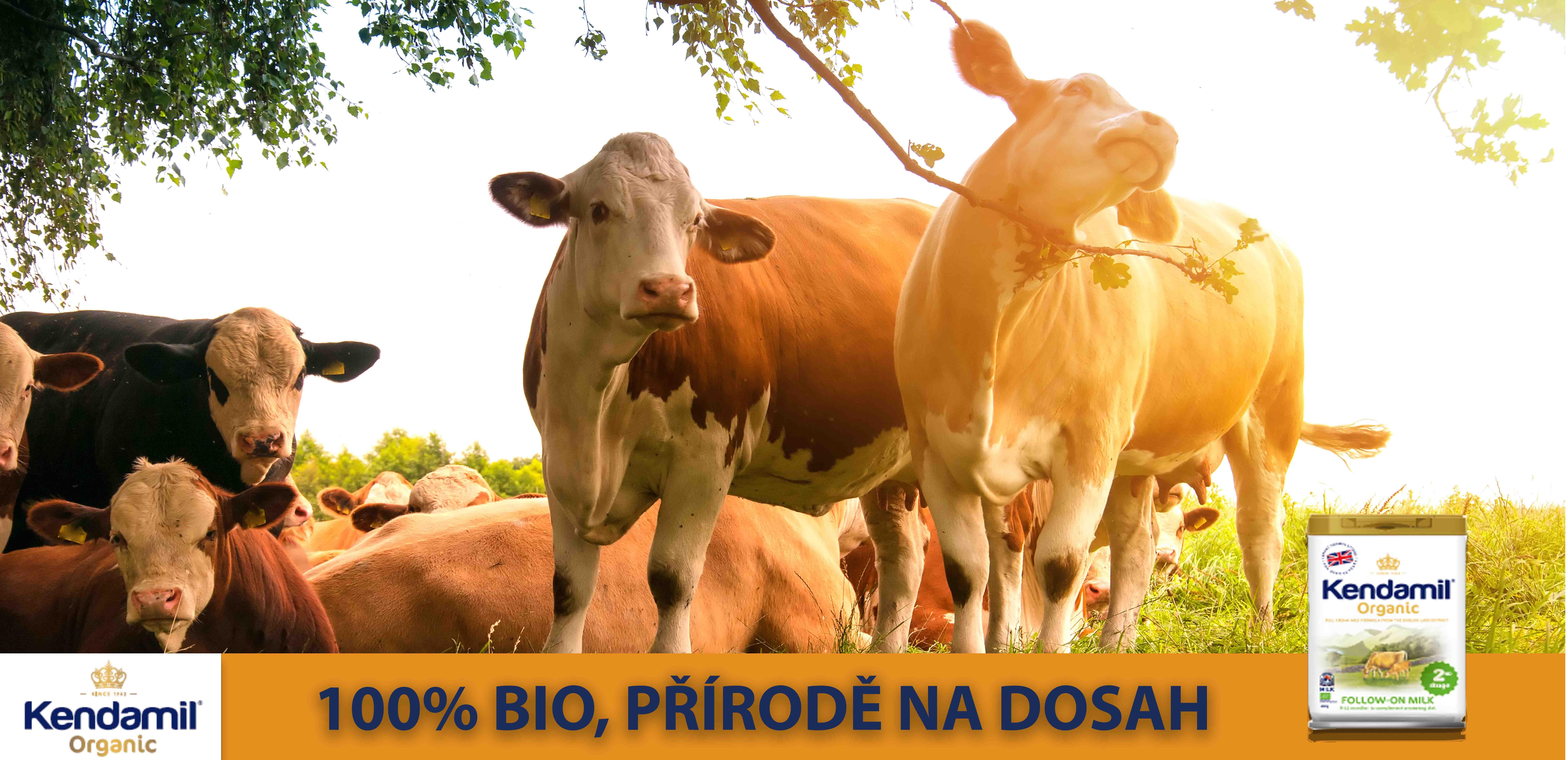 Kendamil Organická mléka