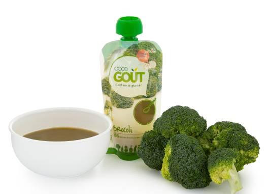 Good Gout BIO Brokolicové pyré