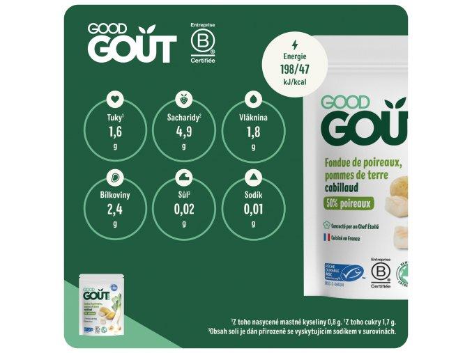 Good Gout BIO Pórek 190g