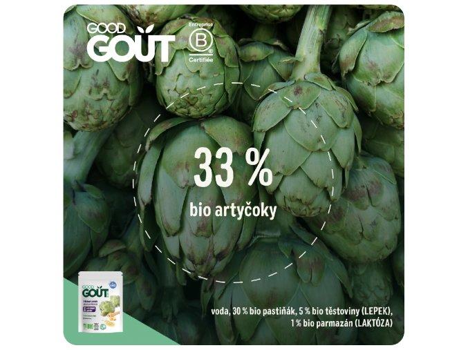 Good Gout BIO Artyčok 190 g