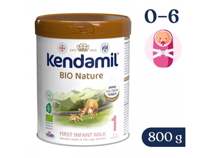 Mléko Kendamil BIO Nature 1