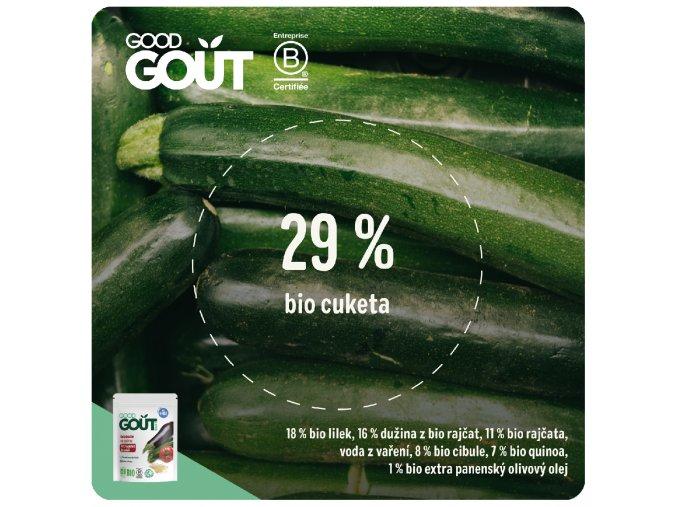 Good Gout BIO Ratatouille s quinou 190 g 3770002327043
