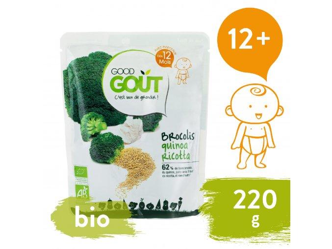 Good Gout BIO Quinoa s brokolicí a ricottou 220 g 3770002327401