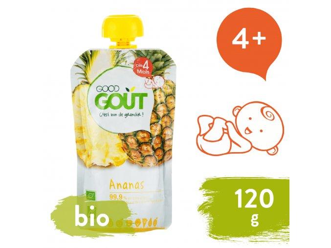 Good Gout BIO Ananas 120 g 3770002327470