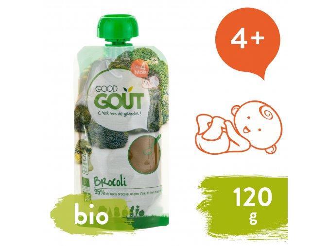 Good Gout BIO Brokolicové pyré 120 g 3770002327272