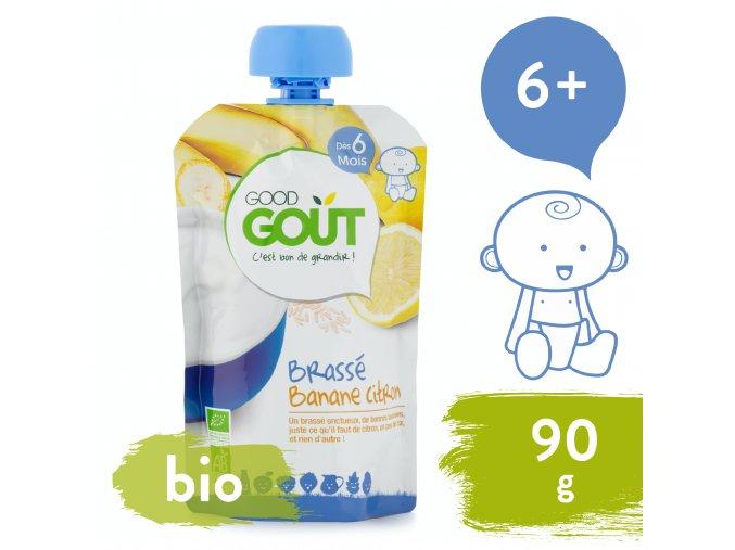 Good Gout BIO Banánový jogurt s citrónem
