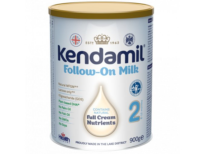 UNI Kendamil pokracovaci mleko 6x900g 5056000500076