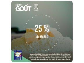 Good Gout BIO Máslová zvířátka 120 g