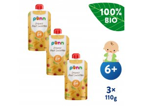 EN UNI Salvest Ponn BIO Ovocne smoothie s ananasem 3x110g 4740073072226