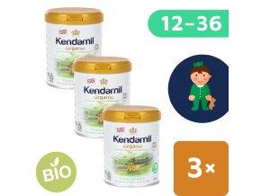 UNI Kendamil Organic batoleci mleko 3x800g 5056000501516