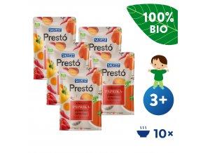5x SALVEST Prestó BIO Polévka z čerstvých paprik, bylinek a koření (600 g)