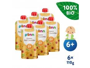 EN UNI Salvest Ponn BIO Ovocne smoothie s ananasem 6x110g 4740073072226