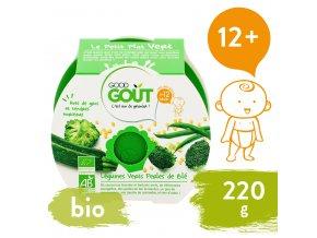 Good Gout BIO Brokolice, cuketa a zelené fazolky s tarhoňou 220 g 3760269310582