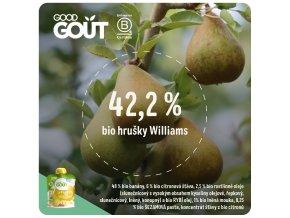 Good Gout BIO Hrušková snídaně 70 g 3760269310179