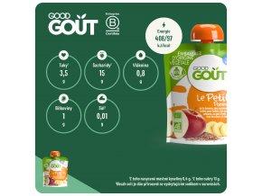 Good Gout BIO Jablečná snídaně 70 g 3760269310209