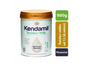 Kendamil batolecí mléko 3 (900g)
