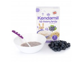 cereal blueberry