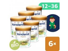 UNI Kendamil Organic batoleci mleko 6x800g 5056000501516
