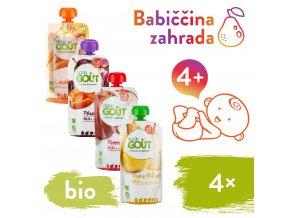 Good Gout BIO Babiccina zahrada 4x120 g