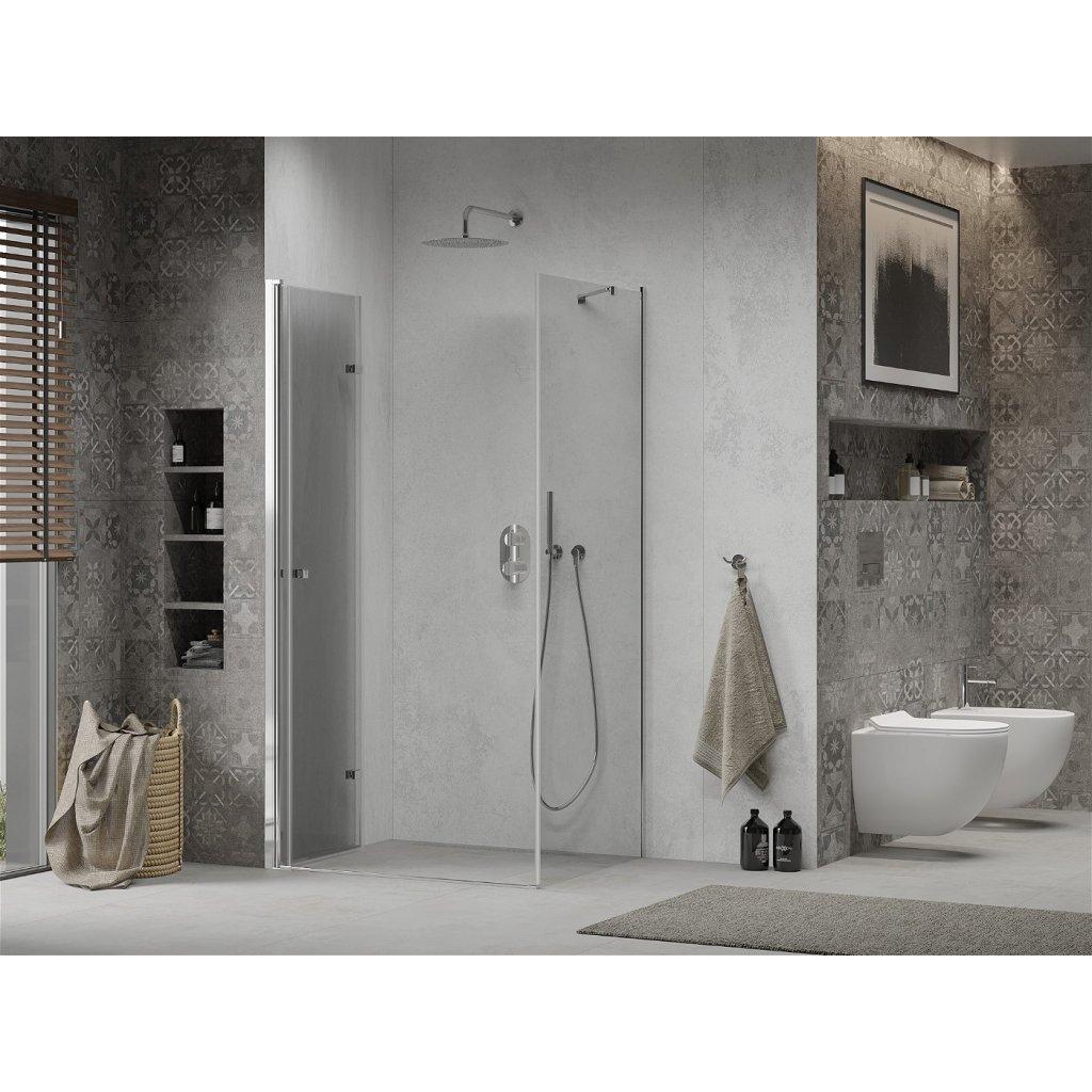 Mexen Lima sprchový kout 95x100cm, 6mm sklo, chromový profil-čiré sklo, 856-095-100-01-00