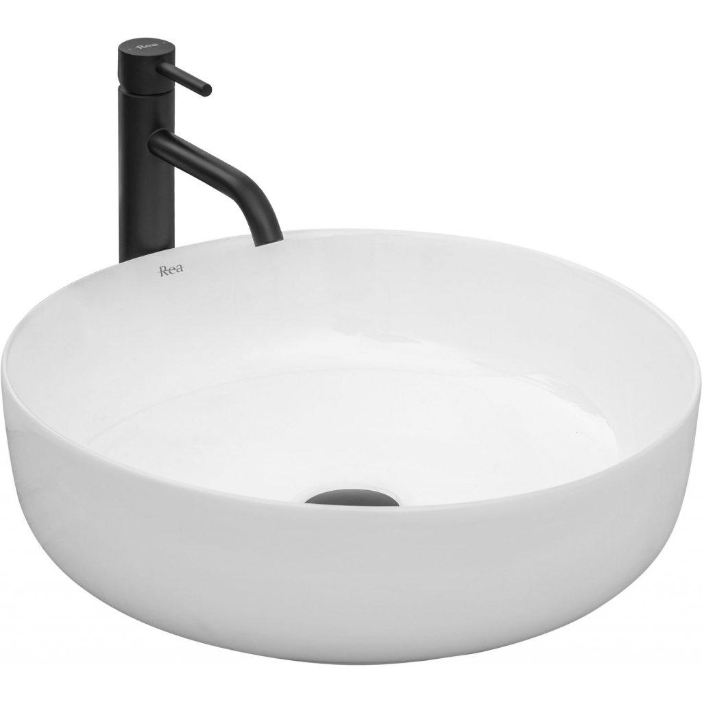 Rea Elma umyvadlo, 45 x 45 cm, bílá, REA-U8493