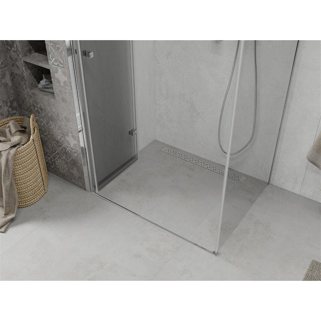 Mexen Lima sprchový kout 85x110cm, 6mm sklo, chromový profil-čiré sklo, 856-085-110-01-00