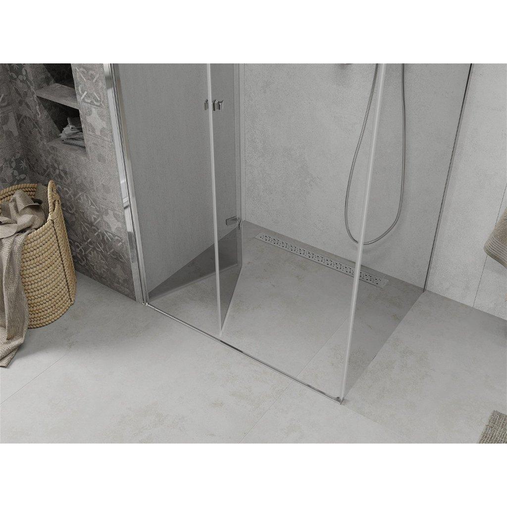 Mexen Lima sprchový kout 85x120cm, 6mm sklo, chromový profil-čiré sklo, 856-085-120-01-00