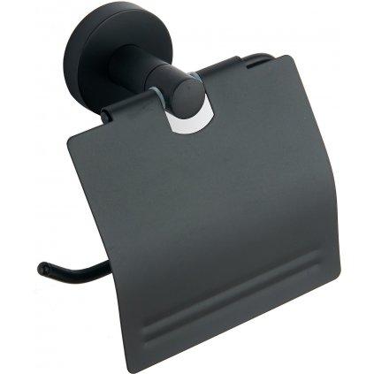 Mexen příslušenství, REMO držák na wc papír, černá, 7050733-70