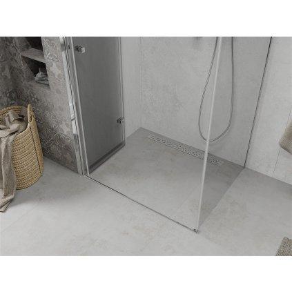 Mexen Lima sprchový kout 90x120cm, 6mm sklo, chromový profil-čiré sklo, 856-090-120-01-00