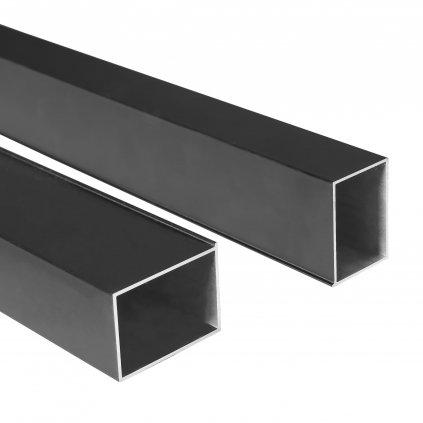 Rea - RAPID / FARGO / SOLAR rozšiřující profil - černá matná 195 cm, REA-K6351
