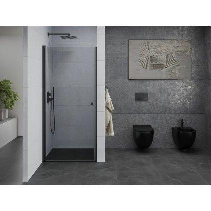 Mexen PRETORIA sprchové dveře do otvoru 90 cm, černá, 852-090-000-70-00