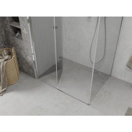 Mexen Lima sprchový kout 80x120cm, 6mm sklo, chromový profil-čiré sklo, 856-080-120-01-00