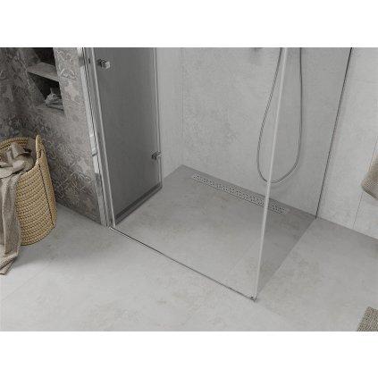 Mexen Lima sprchový kout 70x80cm, 6mm sklo, chromový profil-čiré sklo, 856-070-080-01-00