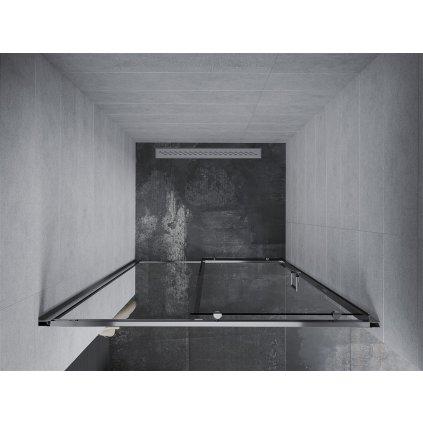 Mexen APIA sprchové posuvné dveře do otvoru 100 cm, 845-100-000-01-00