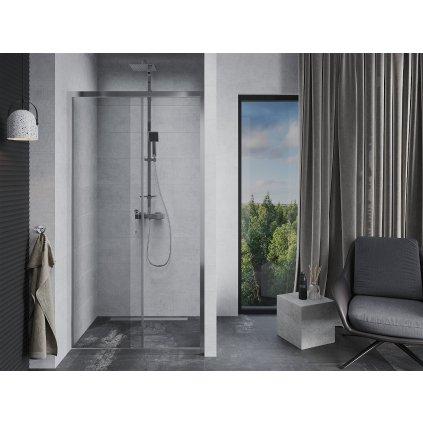Mexen APIA sprchové posuvné dveře do otvoru 110 cm, 845-110-000-01-00