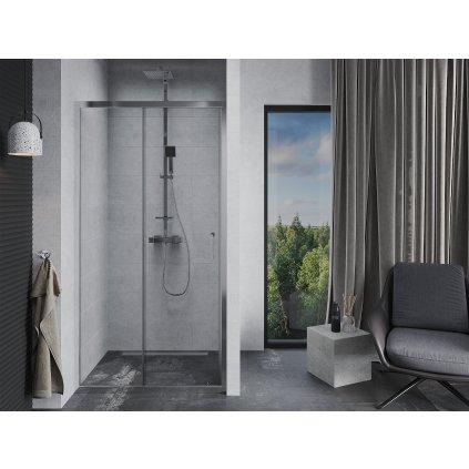 Mexen APIA sprchové posuvné dveře do otvoru 120 cm, 845-120-000-01-00