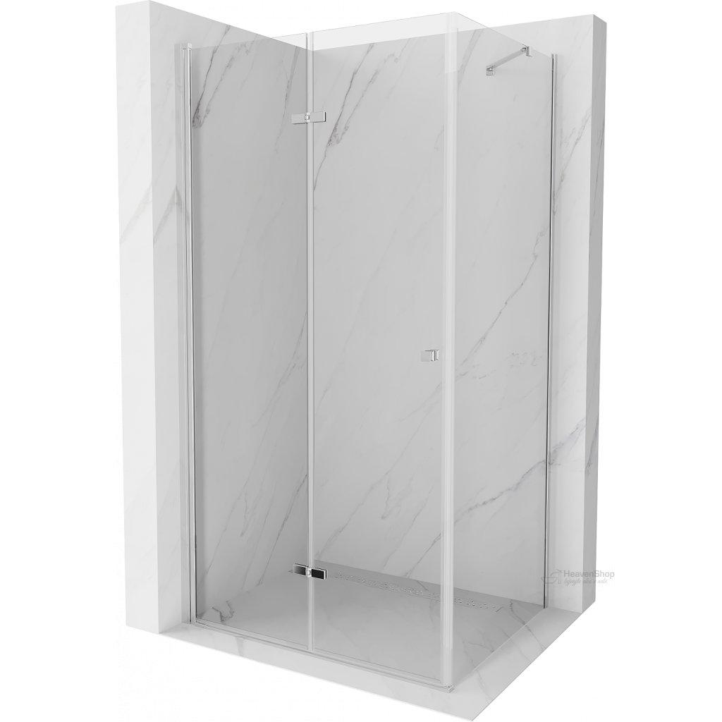 42583 mexen lima sprchovaci kut 80x90cm 6mm sklo chromovy profil cire sklo 856 080 090 01 00