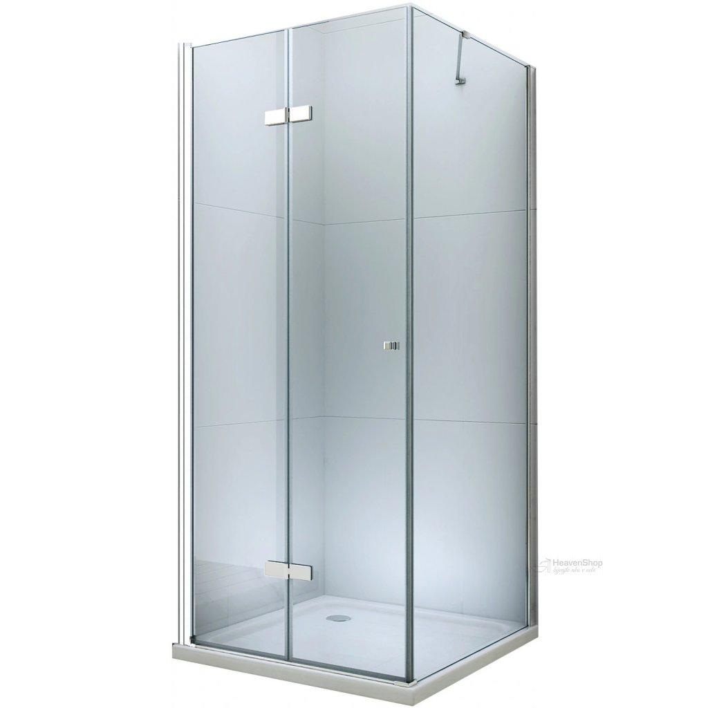 42586 mexen lima sprchovaci kut 80x100cm 6mm sklo chromovy profil cire sklo 856 080 100 01 00