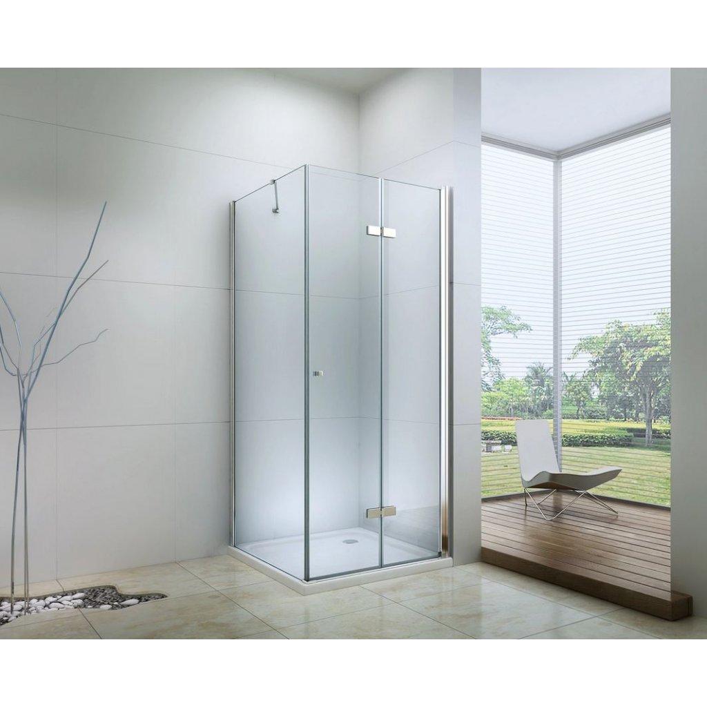 42598 6 mexen lima sprchovaci kut 85x60cm 6mm sklo chromovy profil cire sklo 856 085 060 01 00