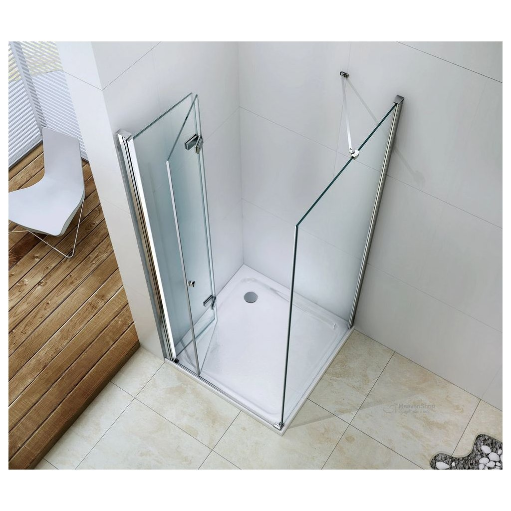 42835 6 mexen lima sprchovaci kut 115x60cm 6mm sklo chromovy profil cire sklo 856 115 060 01 00