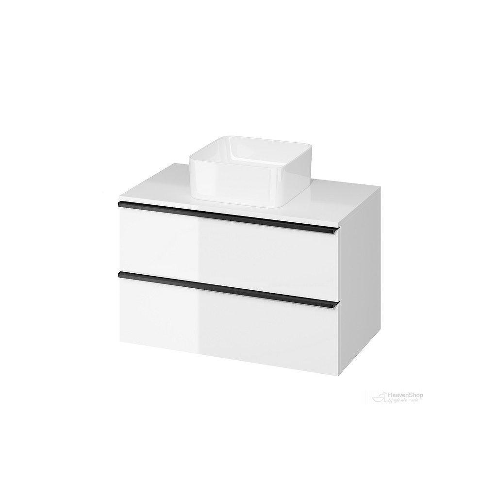 43555 cersanit virgo zavesna skrinka pod umyvadlo s doskou 80cm biela cierna s522 027