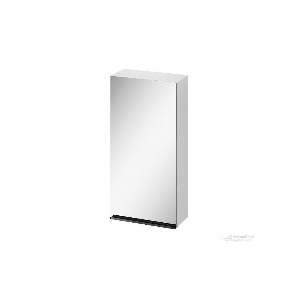 43585 cersanit virgo zrkadlova zavesna skrinka 40cm biela cierna s522 009